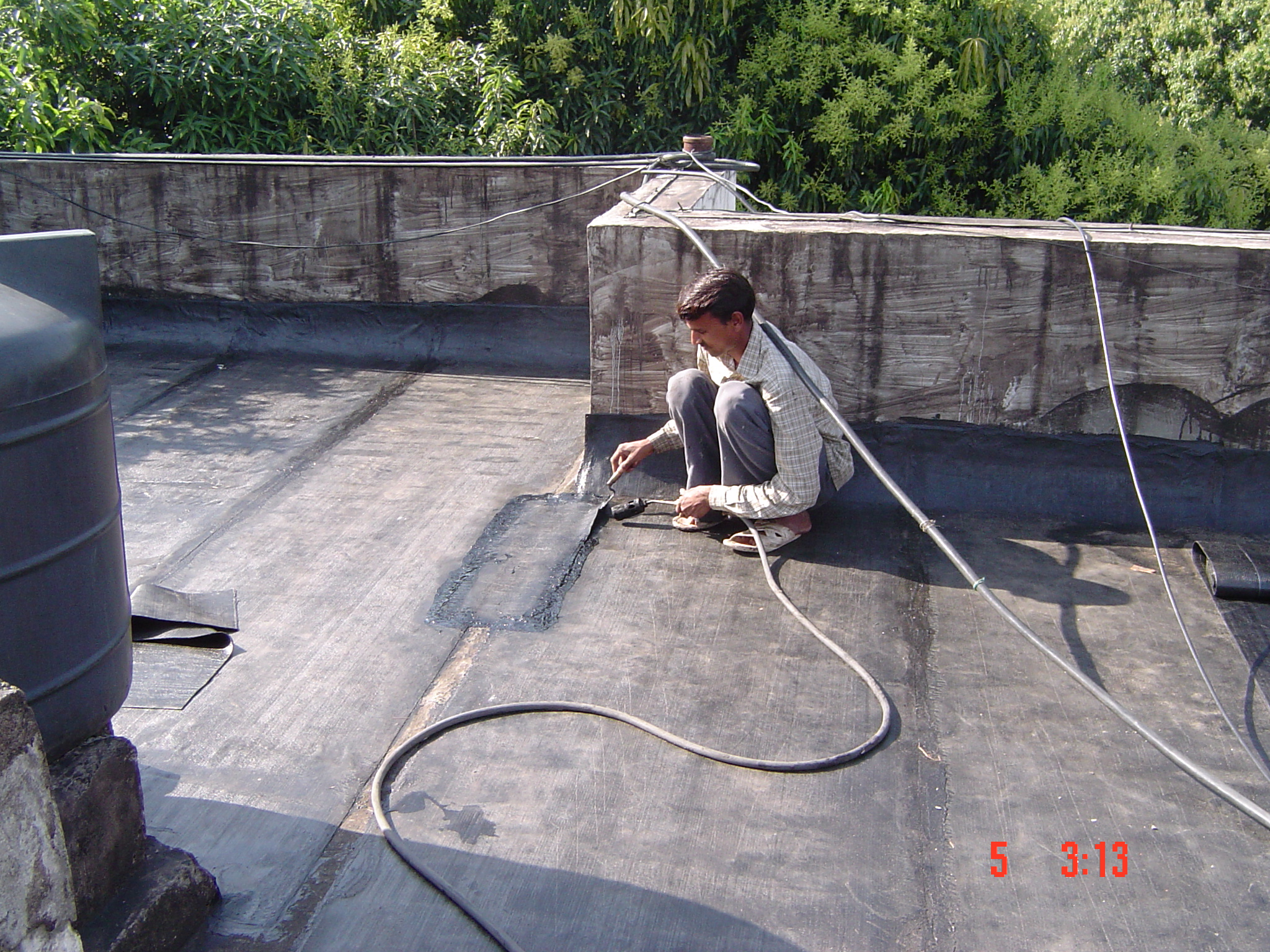 Mj techno waterproofings pvt ltd terrace waterproofing for Terrace waterproofing